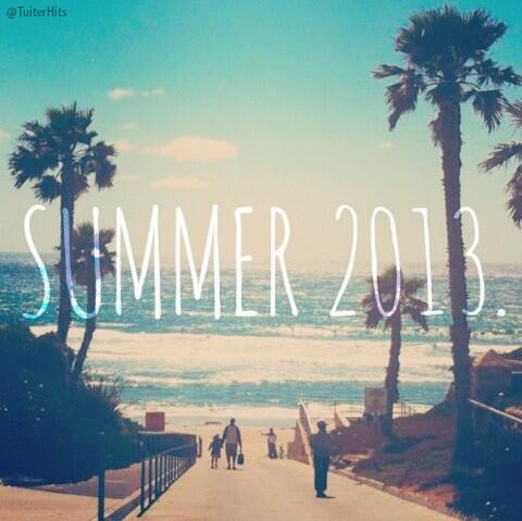 summer, 2013, and beach image