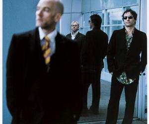 michael stipe, mike mills, and Peter Buck image