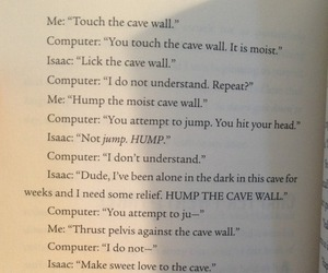 book, funny, and john green image