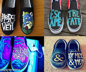 colorful, pierce the veil, and escape the fate image