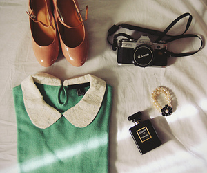 fashion, vintage, and camera image
