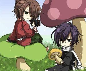 kawaii, shinsengumi, and hakuouki image