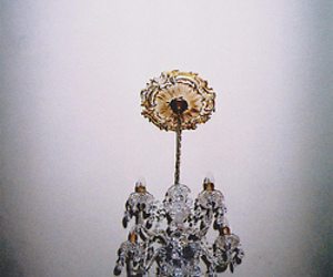 grunge, chandelier, and cool image