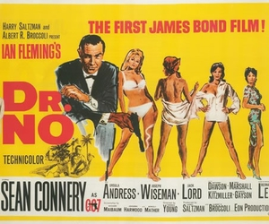dr. no, James Bond, and movie image