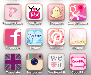 iphone, cocoppa, and facebook image