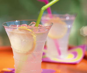 drink, summer, and lemonade image
