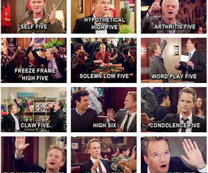 awesome, how i met your mother, and Barney Stinson image