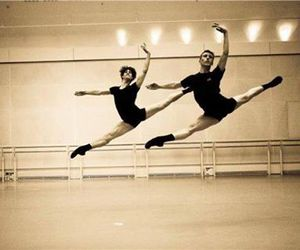 ballet, beautuful, and black image