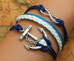 bracelet and blue image