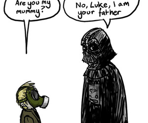 dad, funny, and star wars image