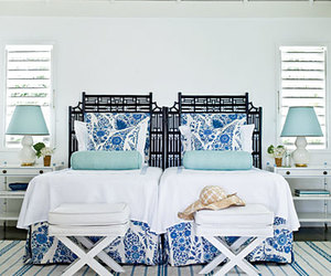 beach, bedroom, and design image