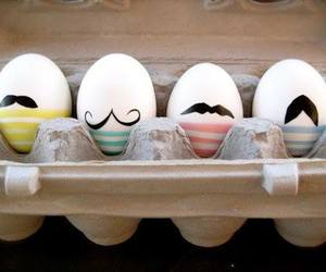 eggs, mustache, and egg image