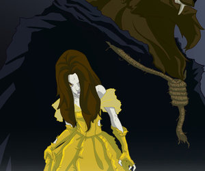 beauty and the beast and coisas legais :3 image