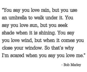 bob marley, love quotes, and Lyrics image