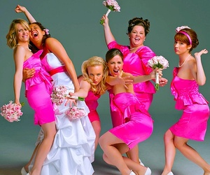 bridesmaids, comedy, and movie image