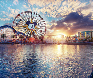 disney, summer, and california image