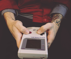 tattoo, boy, and game image