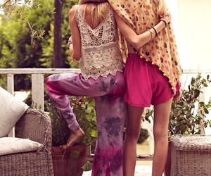 friends, boho, and hippie image