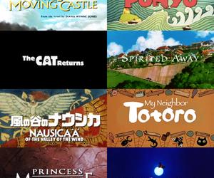 anime, Ponyo, and totoro image
