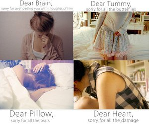 heart, brain, and pillow image