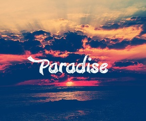 paradise, sun, and summer image