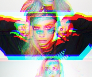 cara delevingne, girl, and 3d image