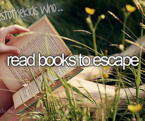books, escape, and tumnlr image