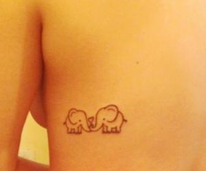 back, elephants, and small image