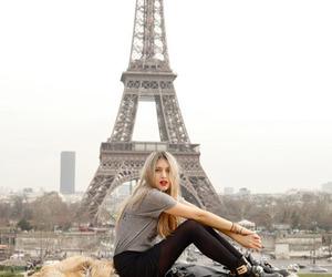 paris, fashion, and blonde image