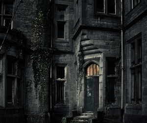 dark, house, and castle image