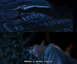 happy birthday and harry potter image