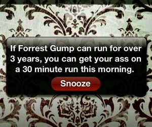 forrest gump, run, and motivation image