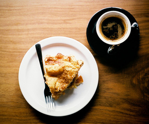 coffee, food, and pie image