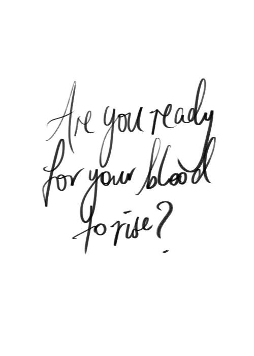 adrenaline, black and white, and blood image