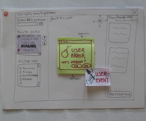 gui, interface, and paper prototype image