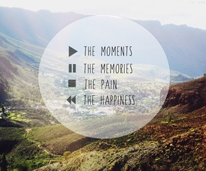 quote, moment, and memories image