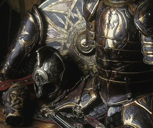 armor, knight, and LOTR image