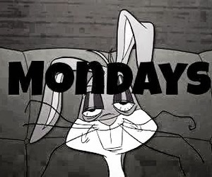 monday, hate, and funny image