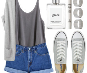 clothes, converse, and fashion image