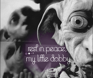 rip, harry potter, and dobby image