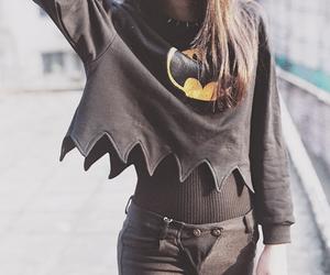 batman, black, and fashion image