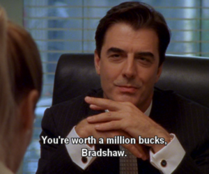 Carrie Bradshaw, sex & the city, and worth image