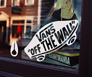 vans, photography, and off the wall image