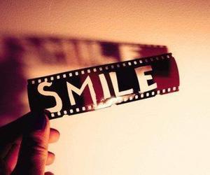 smile, happy, and film image