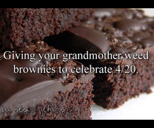 brownies, funny, and grandmother image