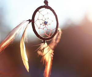 Dream and dream catcher image