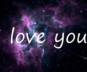 love you space image