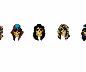 Appetite for Destruction, axl rose, and duff mckagan image