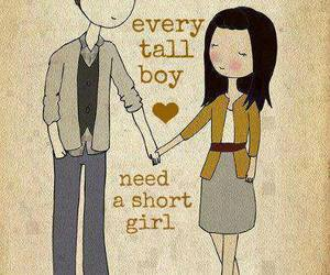 love, boy, and tall image