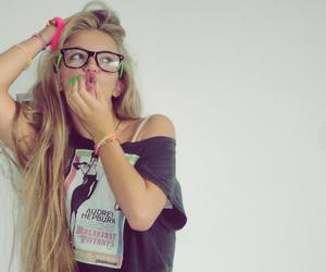 beautiful girl, cool, and style image